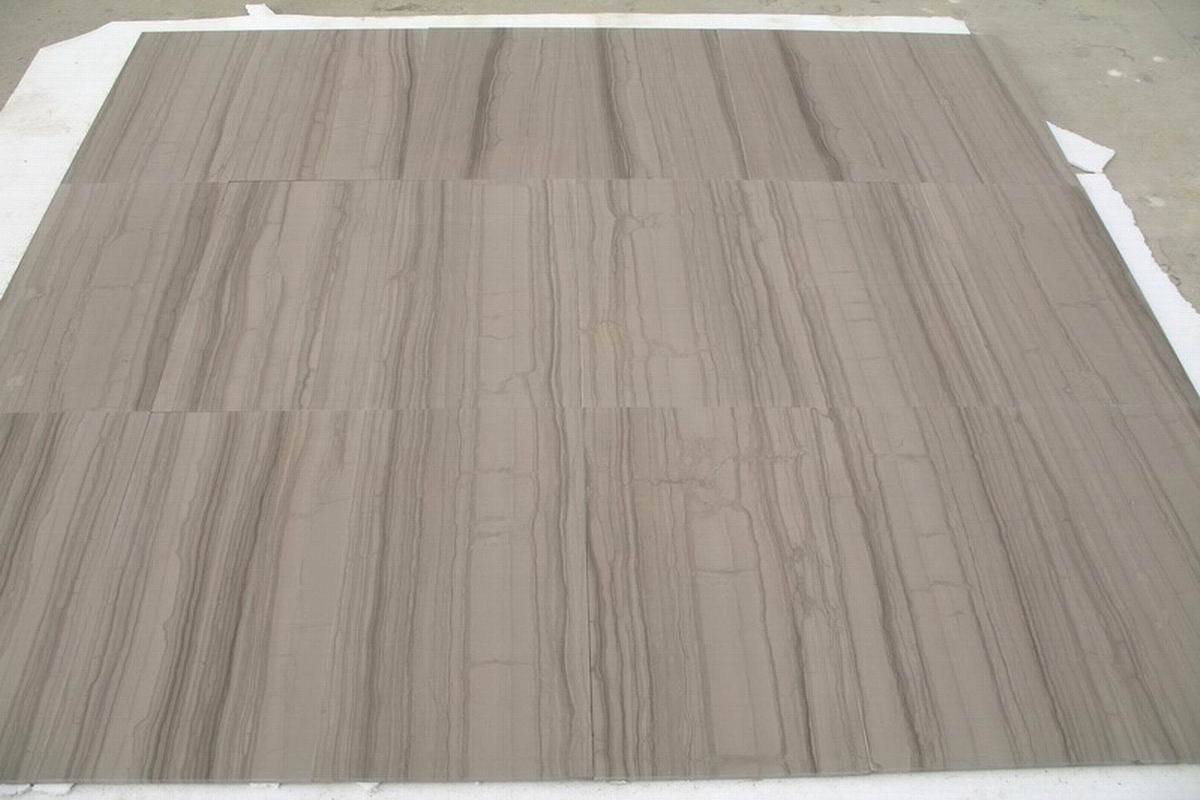 Athens Grey Wood marble tiles