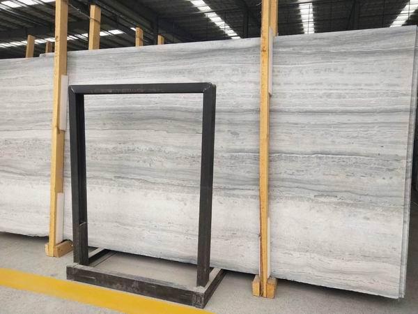 Blue wood marble slabs