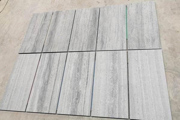 Blue Wood marble tiles
