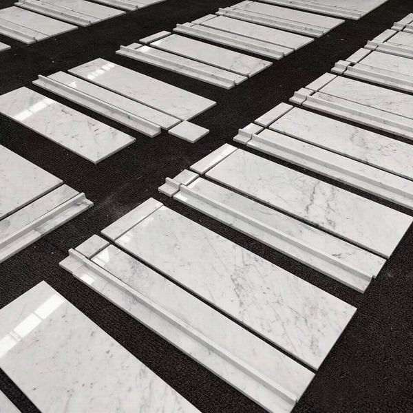 Bianco Carrara layout