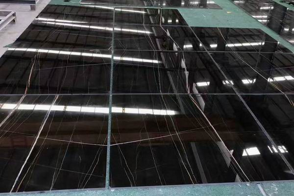 Sahara Noir Black marble tiles