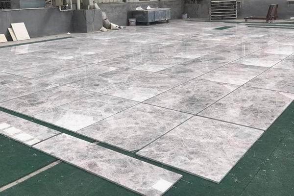 Hermes Grey Marble Tiles