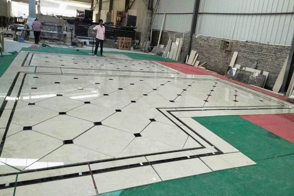 Marble flooring project