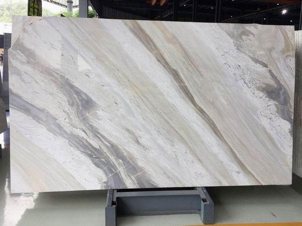 Earl white marble slabs