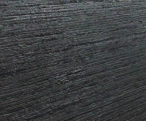 Black Wood Leathered