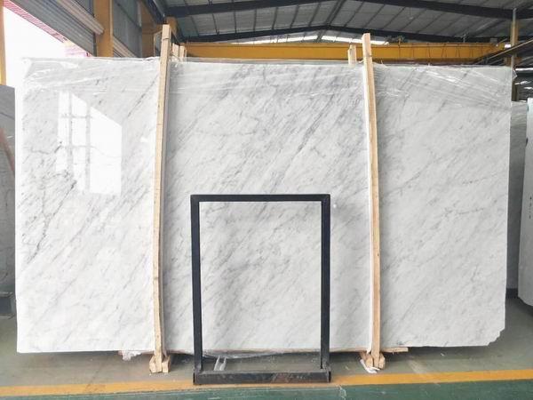 Carrara White CD marble slabs