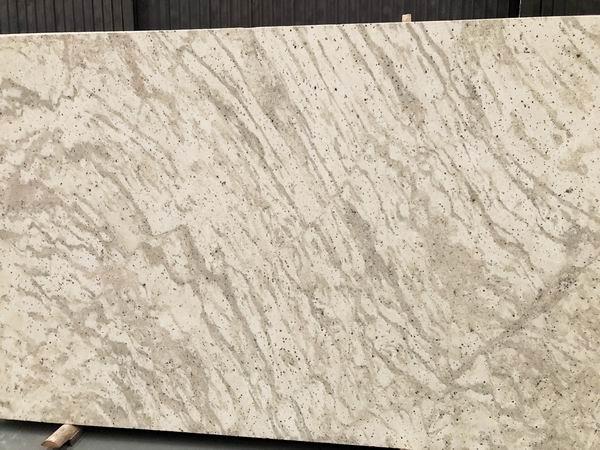 Andromeda White granite slabs