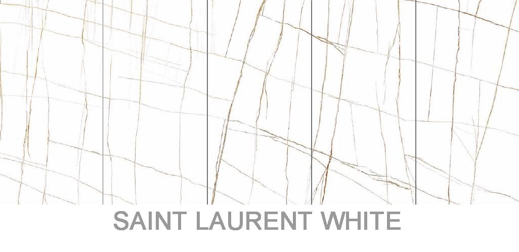 Saint Laurent white sintered stone
