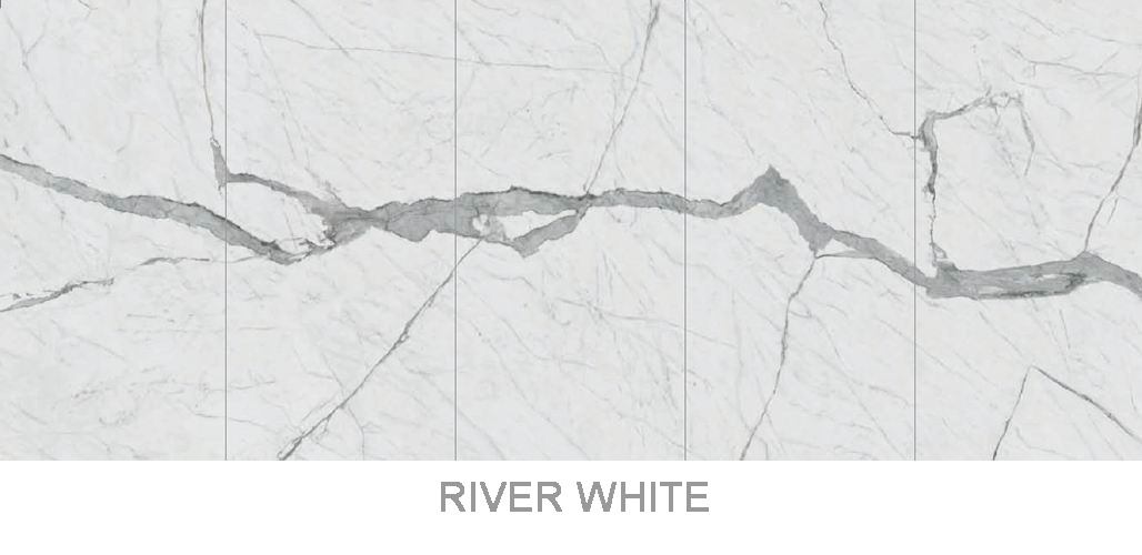 Sintered stone _ River White _3200x1600mm