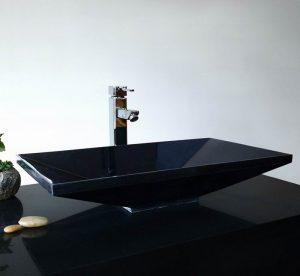 Absolute Black Granite Rectangle Sinks