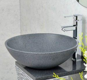 Dark Grey granite bowl sinks