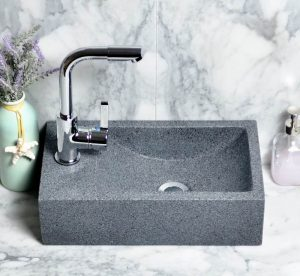 Dark Grey granite rectangle sinks