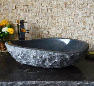 Dark Grey granite thick sinks