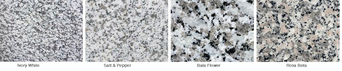 4 china granites
