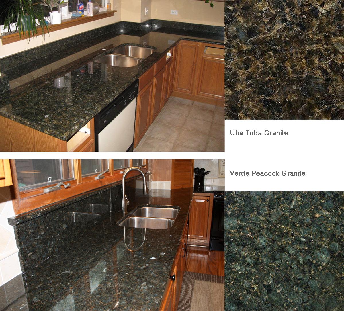 cheap green granite countertops