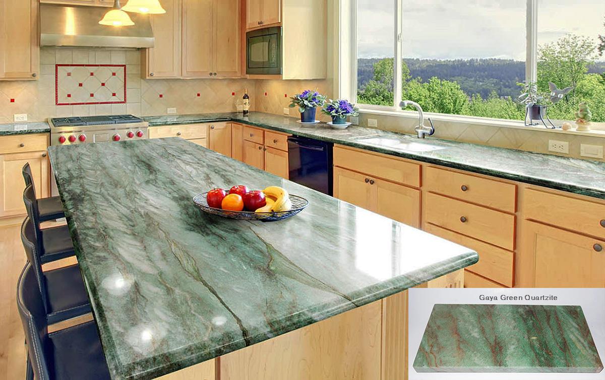 gaya green quartzite